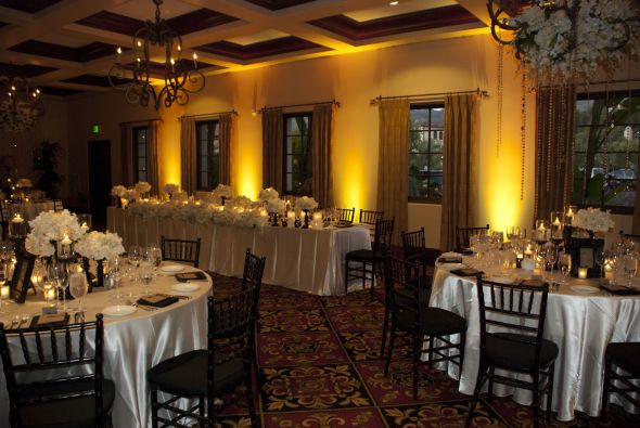 Up-lighting for your wedding or event